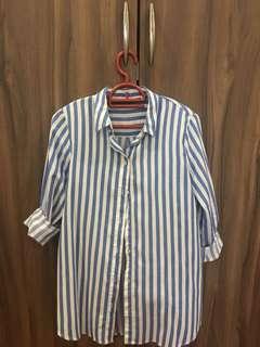 Zara long sleeves shirt