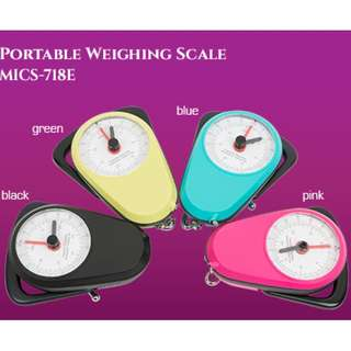 No Battery Needed Classic Portable Weighing Scale with Measurement Tape