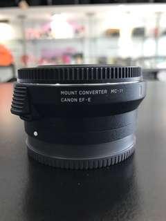 Sigma MC11 / MC-11 Emount to Canon converter