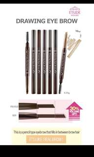 Etude house Drawing Eyebrows 1 For 1