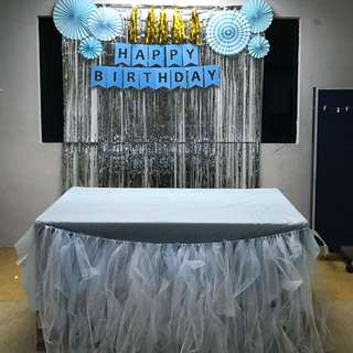 Tutu Table Skirting