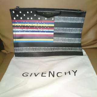 Printed GIVENCHY Clutch