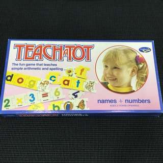 TeachaTot arithmetic & spelling game