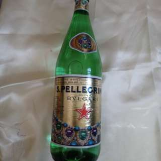 San Pellegrino sparkles with BVLGARI sparkling natural mineral water 1000ml