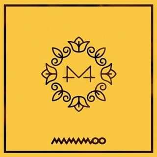 Mamamoo 6th Mini Album - Yellow Flower