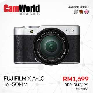 Fujifilm X A-10 16-50mm