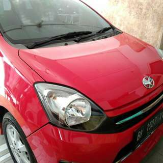 MobiL Toyota Agya 2016 TRD Sportivo Automatic