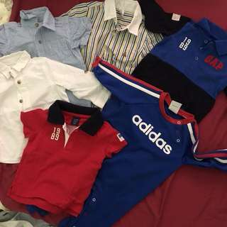 Branded Baby Boy Clothes Bundle