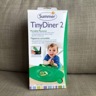 SALE!! BNIB Summer Tiny Diner 2 portable suction placemat