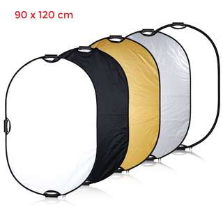 Pxel RF9X12 35x47inch 90x120cm Reflector with Grip Handle Photography