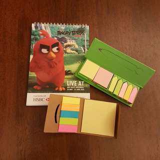 Note book n sticky note