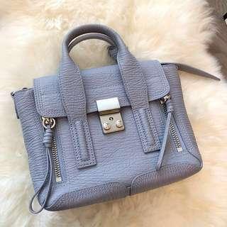 3.1 Philip Lim mini Lilac Pashli bag.
