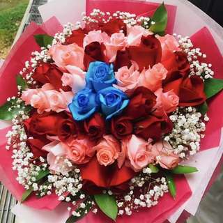 Mix Color Rose Bouquet