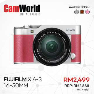 Fujifilm X A-3 16-50mm