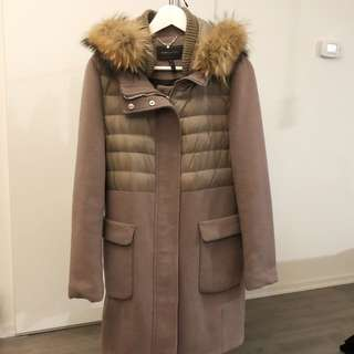 BCBGMAXAZRIA Winter Coat with fur