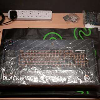 Razer Overwatch Blackwidor Chroma
