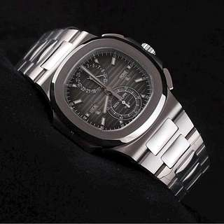 Patek Philippe Nautilus Chrono GMT IN SS PP 5990/1A
