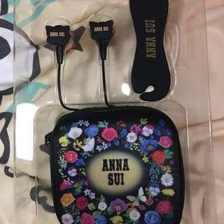 Anna Sui 經典蝴蝶耳機套裝