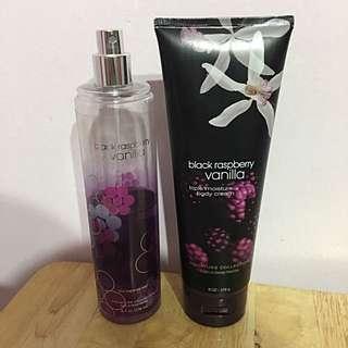 Black Raspberry Vanilla fragrance duo