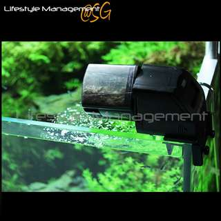 Aquatic Fish Tank/Aquarium Pet Food Electronic Digital Auto Feed Feeder Fish Tank