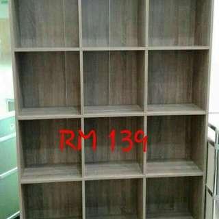 Book shelf rak buku
