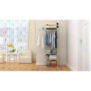 Stand hanger rak lemari pakaian serbaguna MEGAHOME MHX18