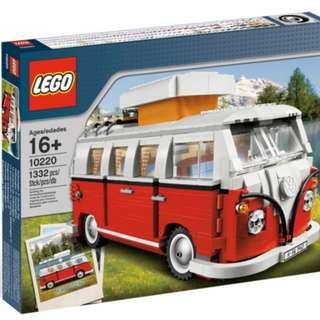 Lego 10220 Volkswagen T1 Camper Van Brand New