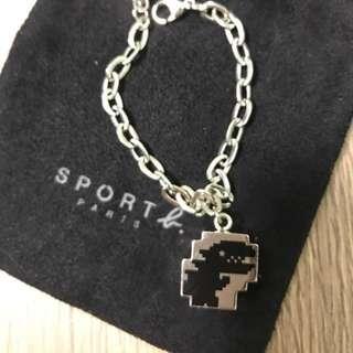 agnes b sport dinosaur bracelet 手鏈