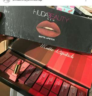 Huda Beauty Lipstick set (Inspired)