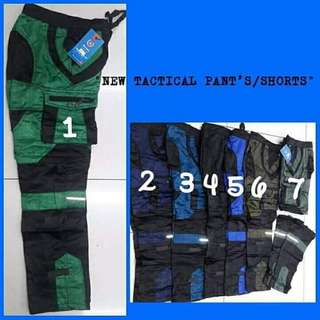 FEB 18 TACTICAL PANTS / SHORT (JR)