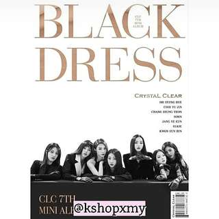 CLC 7th Mini Album - ' Black Dress '