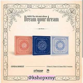 WJSN 4th Mini Album - ' Dream Your Dream '