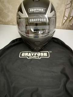 Grayfosh Helmet Xplorer Matt Black