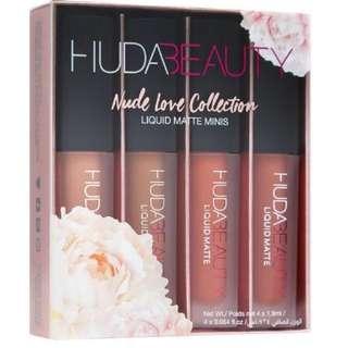 Huda Beauty Liquid Matte Mini in NUDE LOVE EDITION
