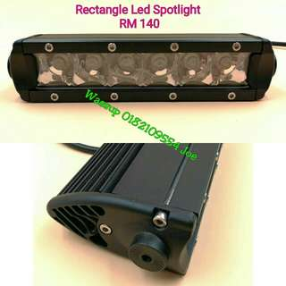 Rectangle Led 6 Bulb Sportlight
