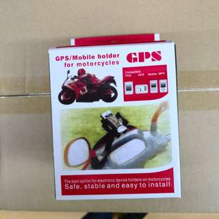 GPS /mobile holder for motorcycles
