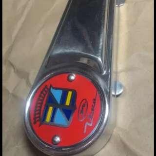 Fork link cover vespa accessories alluminium