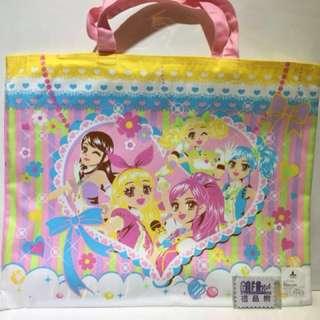 (現貨)日本製 手挽 布畫袋 星夢學園 偶像活動 日本直送 全新品