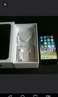 "99% black colour iPhone 7 128gb, Hong Kong zp version,  full set with box.  4.7"" original, like new, 100% working & good battery, full set new accessories, 7 days warranty.   4.7寸99% 新無花,港行zp, 100%全正常及電池良好"