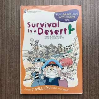 Survival In The Dessert Comic Book