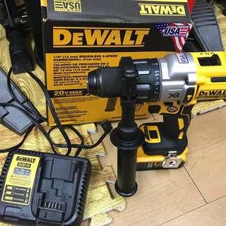 得偉(DEWALT)  美版DCD996B鋰電鑽