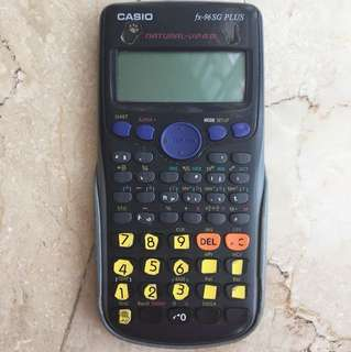 Casio Calculator fx-96SG
