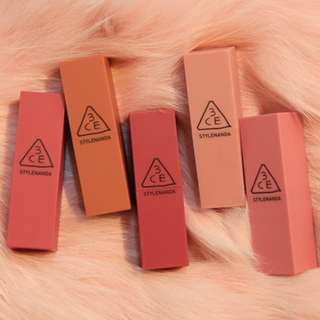 3CE Stylenanda Mood Recipe Matte Lip Color