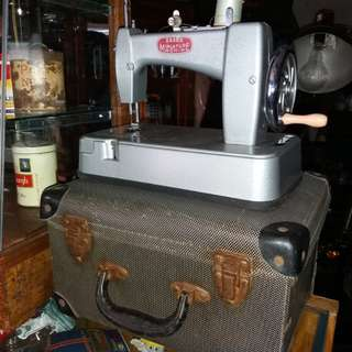 Antique sewing machine