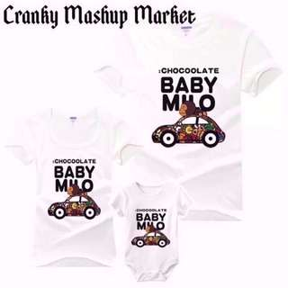 Bathing Ape Family/Couple Tee With Romper (CMM-FCTR)
