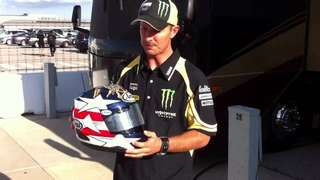 Arai Colin Edwards Texas Tornado (US Navy Tribute)