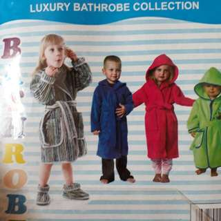 Bathrobe kids