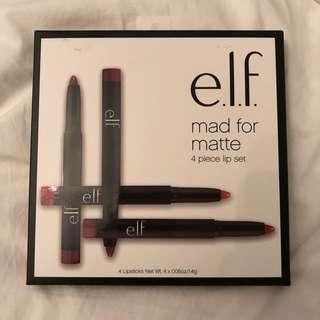 🌸全新E.L.F. MAD FOR MATTE LIP COLOR SET🌸