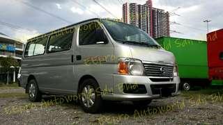 Nissan Urvan 3.0M 2009 yrs