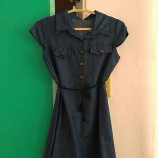 Demin-like Dress
